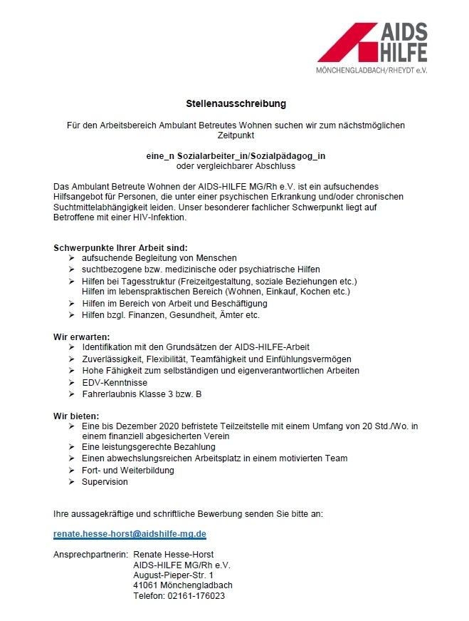 hpfb - Bewerbung Sozialarbeiter